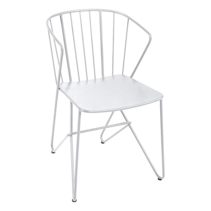 Flower Sessel von Fermob in Baumwollweiß