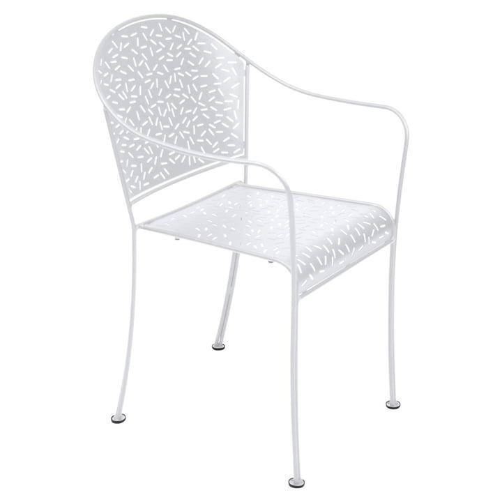 Rendez-Vous Sessel von Fermob in Baumwollweiß
