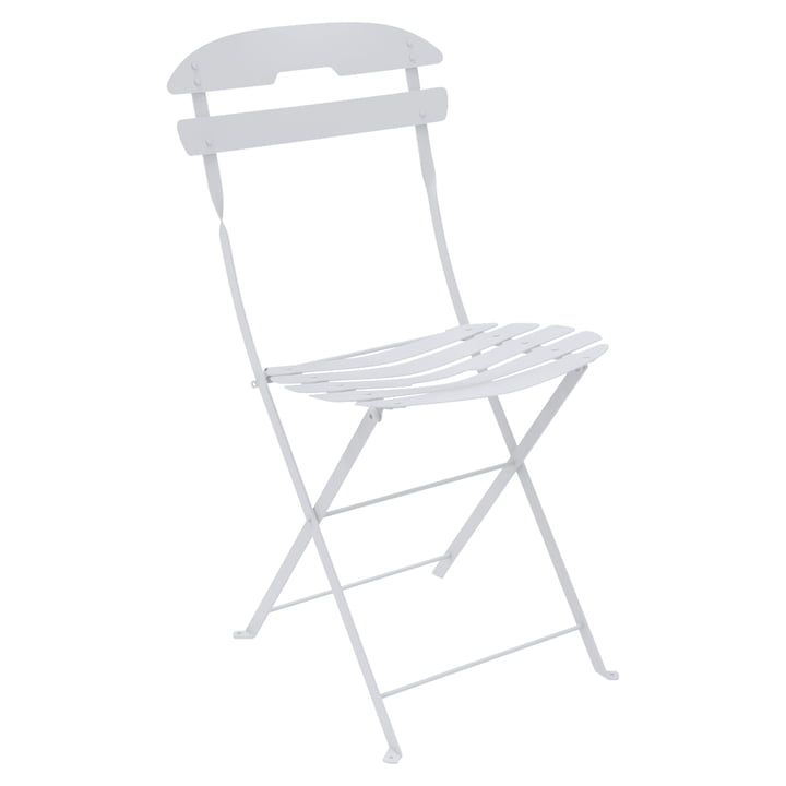 La Môme Stuhl von Fermob in Baumwollweiß
