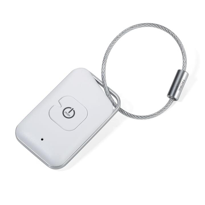 Selfmate Schlüssel- und Smartphonefinder von Troika in Weiß