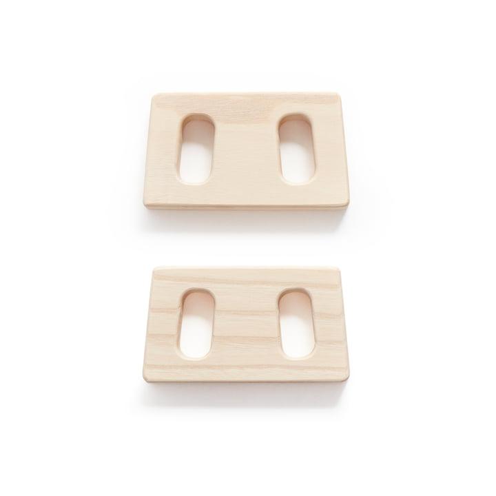 Verbindungsstücke zum Kleiderständer von Andersen Furniture in Esche (2er-Set)