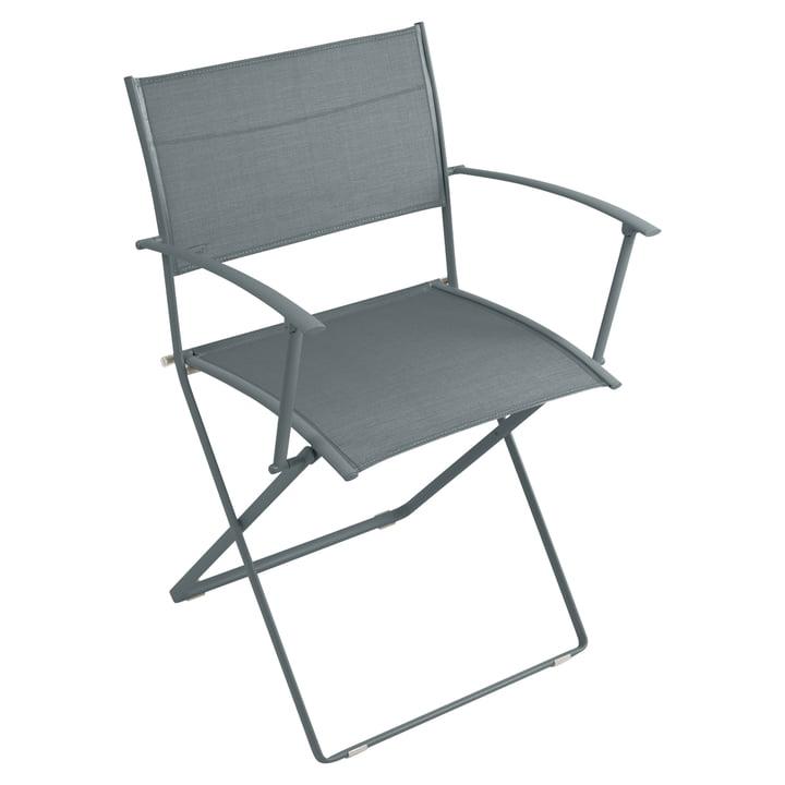 Plein Air Sessel von Fermob in Gewittergrau