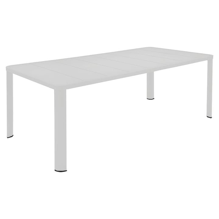 Oléron Tisch 205 x 100 cm von Fermob in Baumwollweiß
