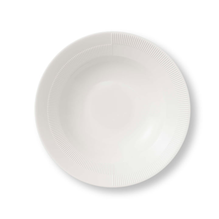 Tiefer Duet Teller Ø 23 cm von Rosendahl in Weiß