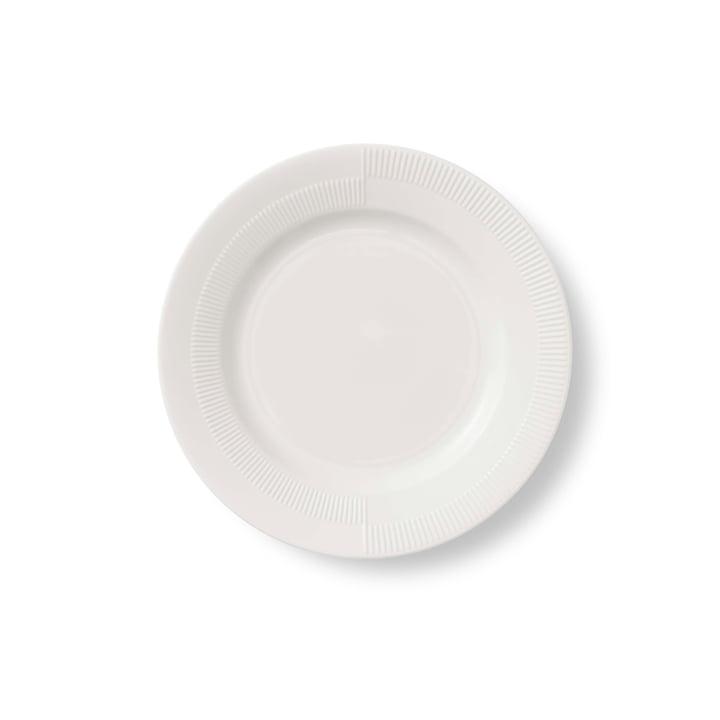 Duet Teller Ø 19 cm von Rosendahl in Weiß