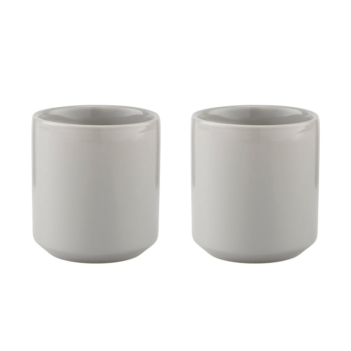 Core Thermobecher 0,2 l (2er-Set) von Stelton in Hellgrau