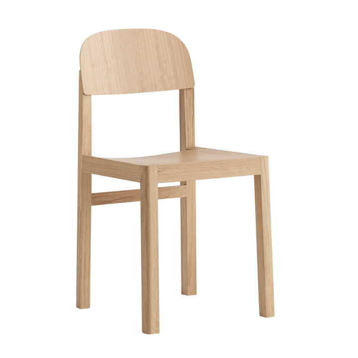 Workshop Chair von Muuto in Eiche