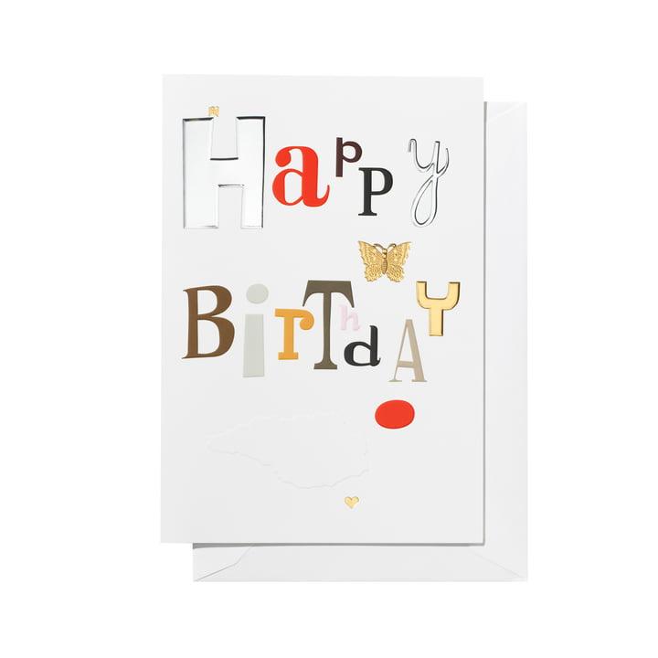Greeting Card Happy Birthday von Vitra