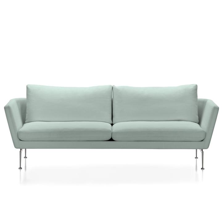 Suita Sofa 3-Sitzer von Vitra in Pale Blue Melange
