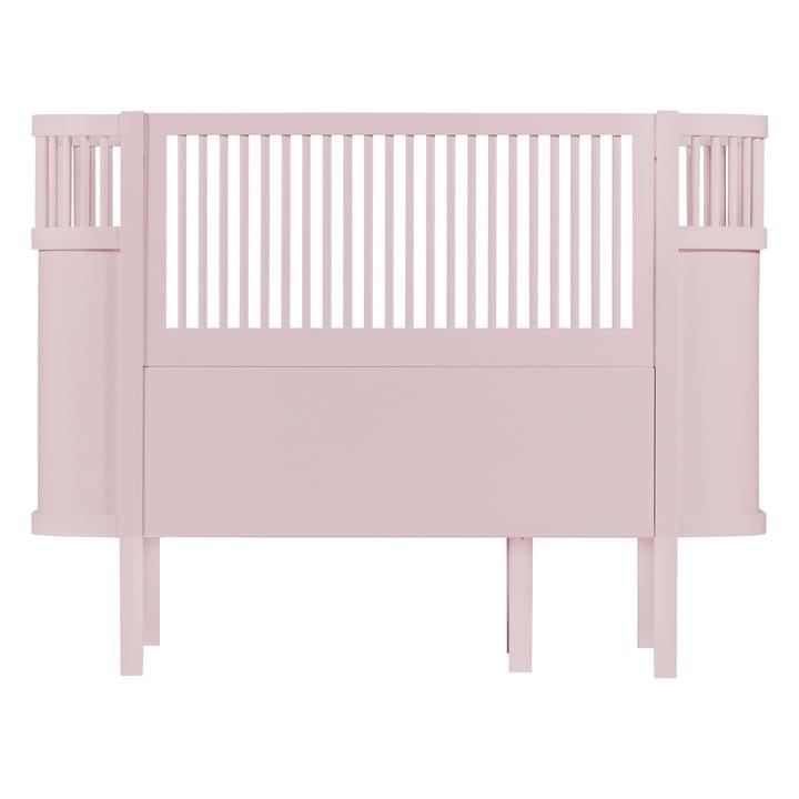 Das Sebra Bett Baby & Junior in Altrosa