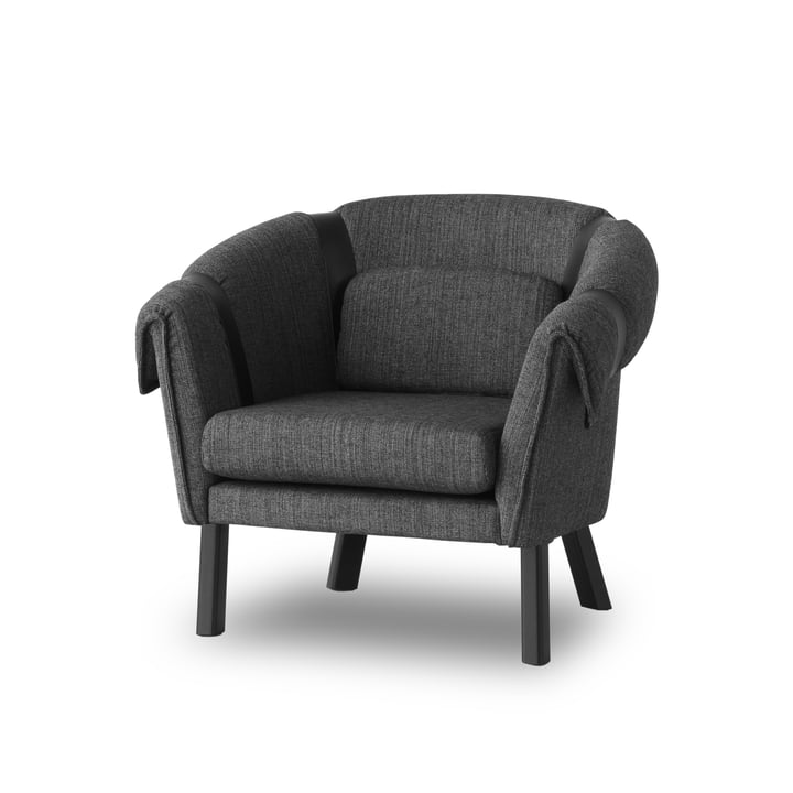 Design House Stockholm - Ram Easy Chair, dunkelgrau