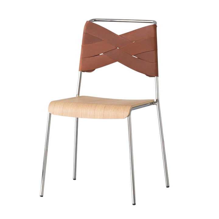 Torso Chair von Design House Stockholm in Eiche / Cognac
