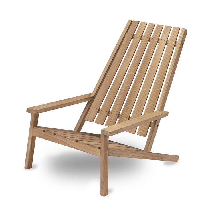Between Lines Deck Chair von Skagerak aus Teakholz