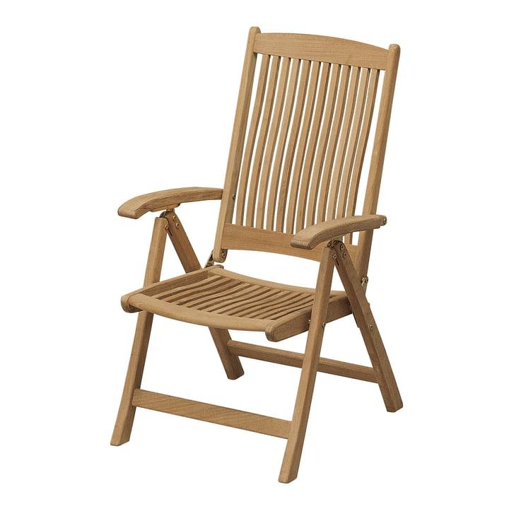 Columbus Chair ungepolstert von Skagerak aus Teakholz
