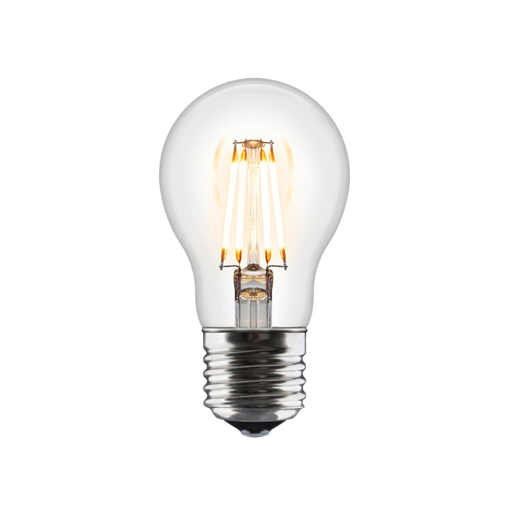 Idea LED Leuchtmittel E27 / 6 W von Umage in Klar