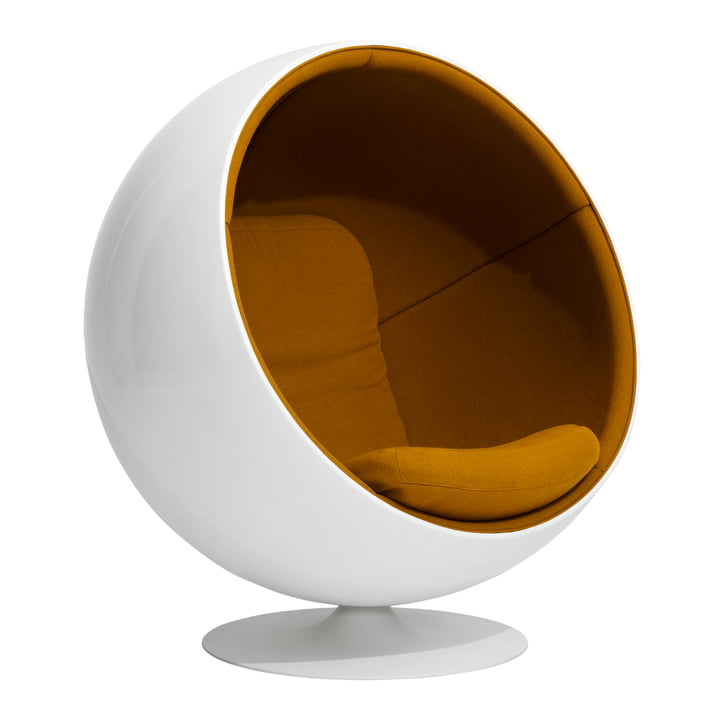 Ball Chair von Eero Aarnio Originals in Orange (Hallingdal 65 /547)