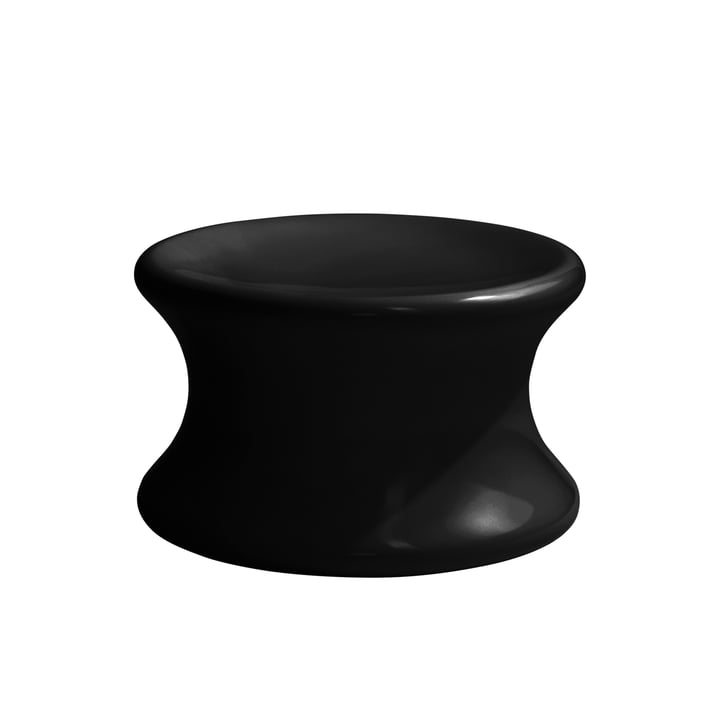 Mushroom Hocker von Eero Aarnio Originals in Schwarz
