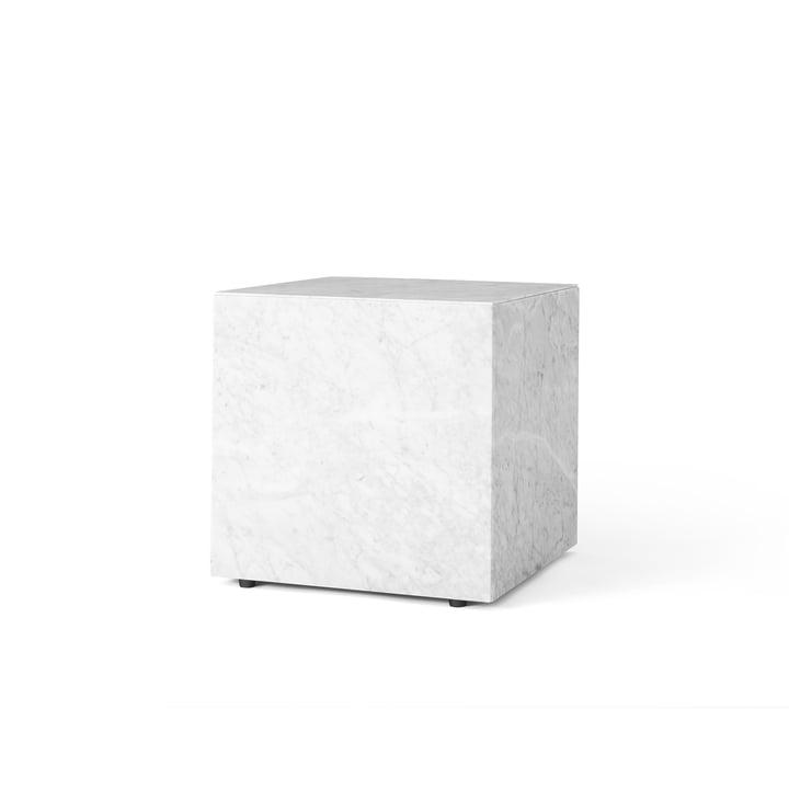 Menu Plinth Cubic Beistelltisch in Weiß