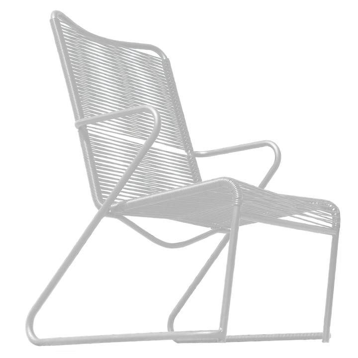 Lido Lounge-Armlehnsessel von Fiam in Weiß