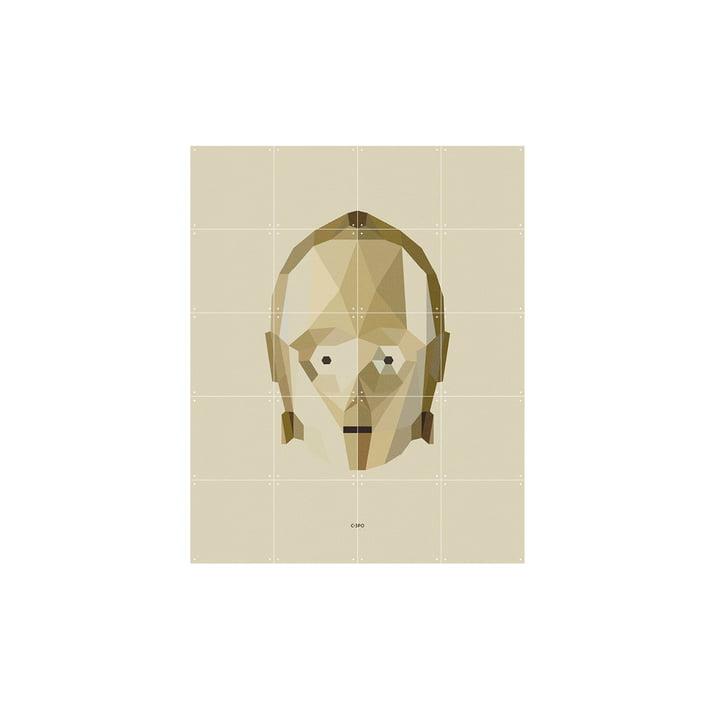 Star Wars Icon: C-3PO von IXXI in 80 x 100 cm