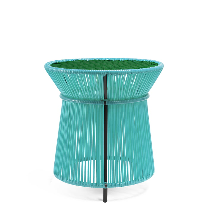 ames - caribe High Table, mint / grün / schwarz