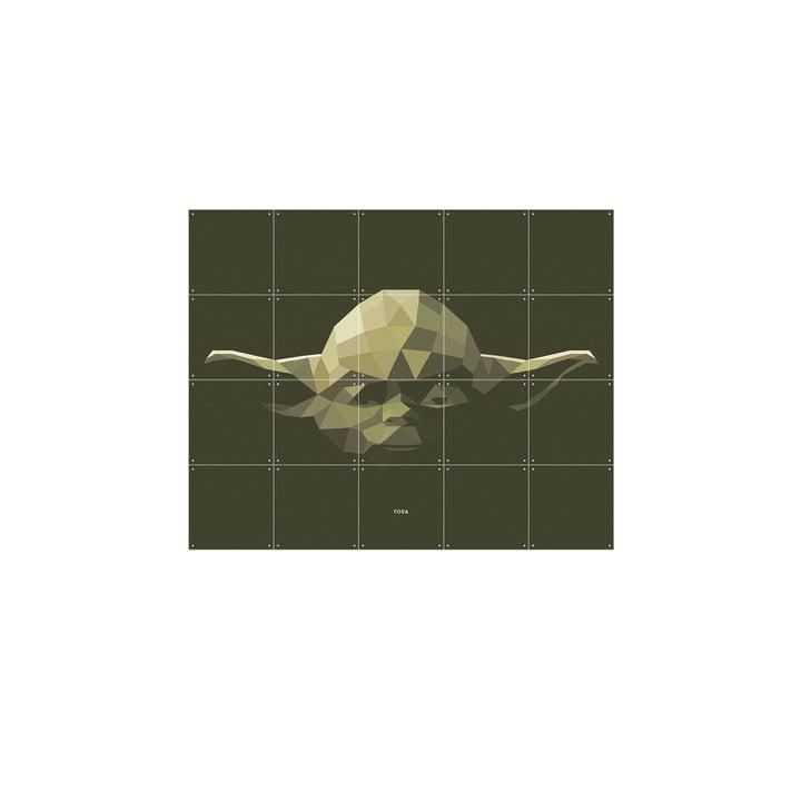 Star Wars Icon: Yoda von IXXI in 100 x 80 cm