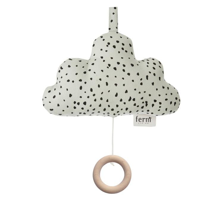 Spieluhr Wolke von ferm Living in Mintgrün