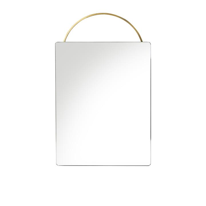 Adorn Messing-Spiegel 35 x 53 cm von ferm Living