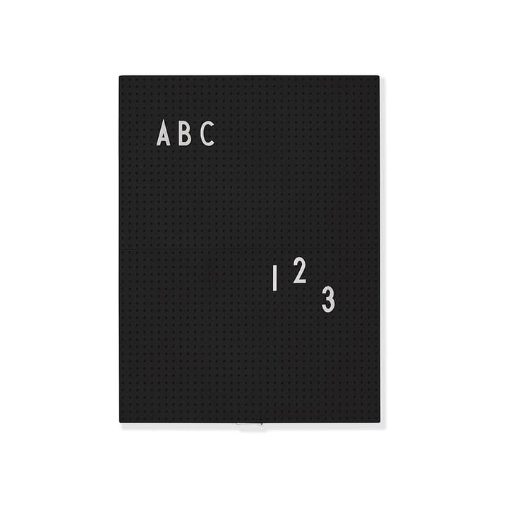 Message Board A4 von Design Letters in Schwarz