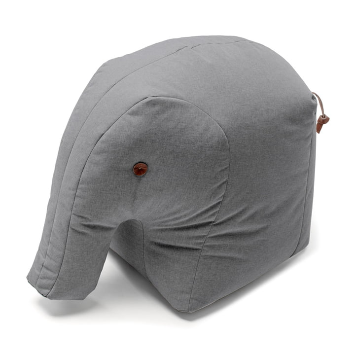 Stoff-Elefant Elmar mit Rüssel