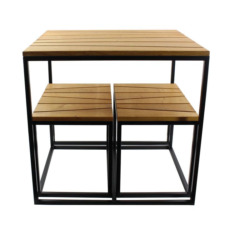 Alois Mini Tisch (inkl. 2 Bänke) von Jan Kurtz