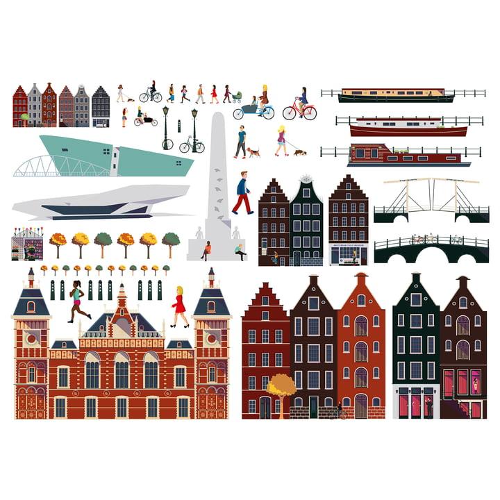 Lekkerplèkkuh Fensterdekoration Amsterdam von Fatboy