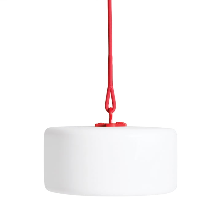 Thierry le Swinger Outdoor LED von Fatboy in Rot