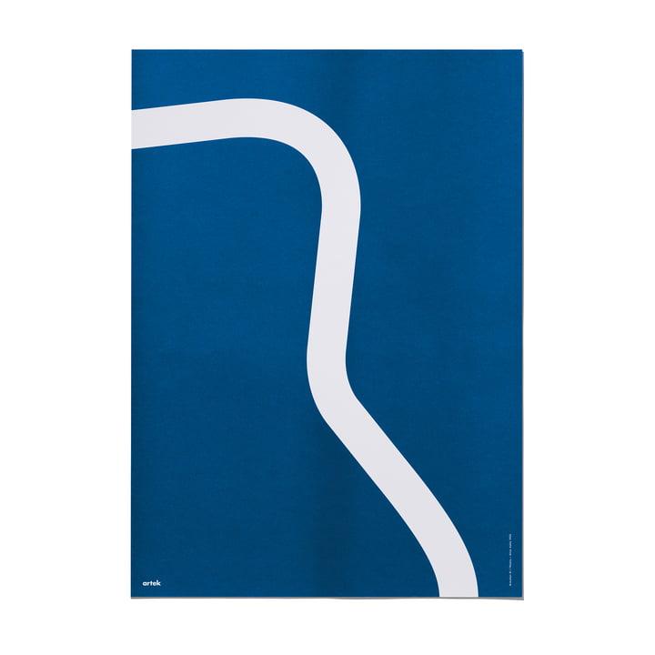 Outline Poster 50 x 70 cm Armchair 41 von Artek