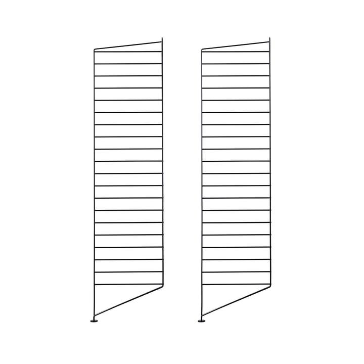 Bodenleiter 115 x 30 cm (2er-Set) von String in Schwarz