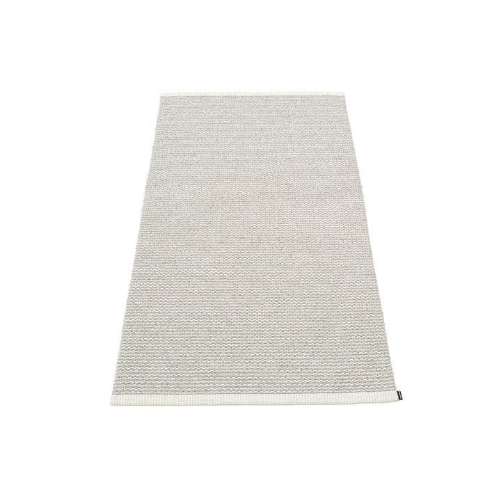 Mono Teppich, 60 x 150 cm von Pappelina in Fossil Grey / Warm Grey