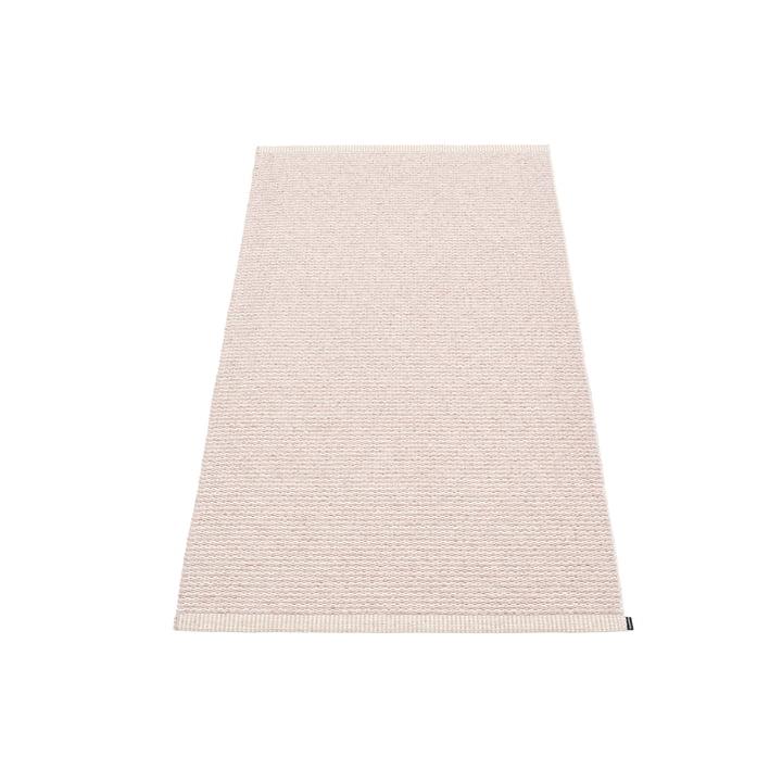 Mono Teppich, 60 x 150 cm von Pappelina in Pale Rose / Ballet