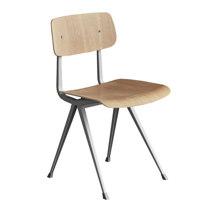 Result Chair von Hay in Beige und Eiche matt lackiert