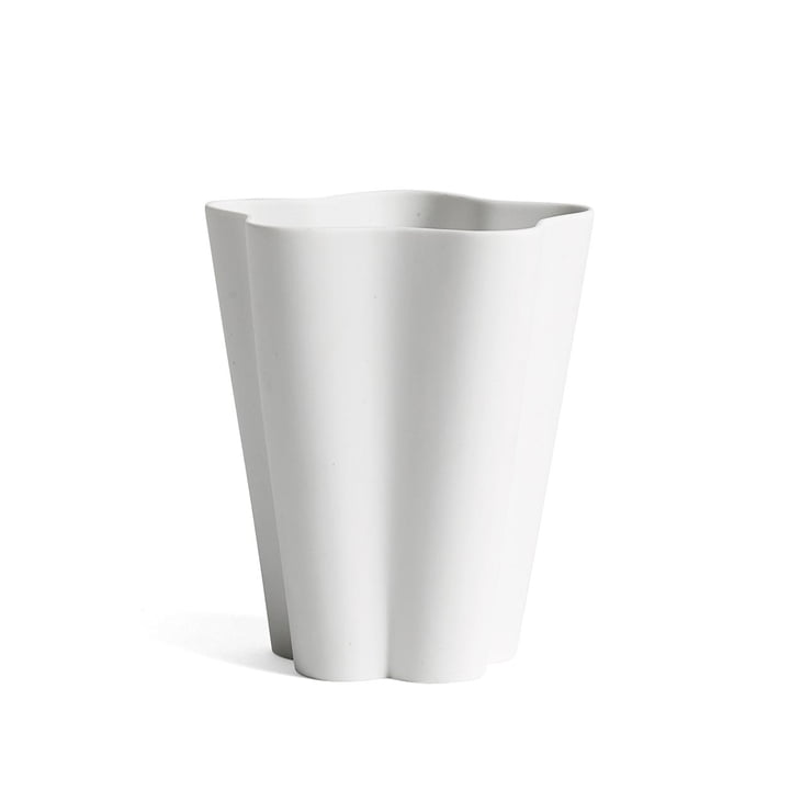 Hay - Iris Vase small, cremeweiß