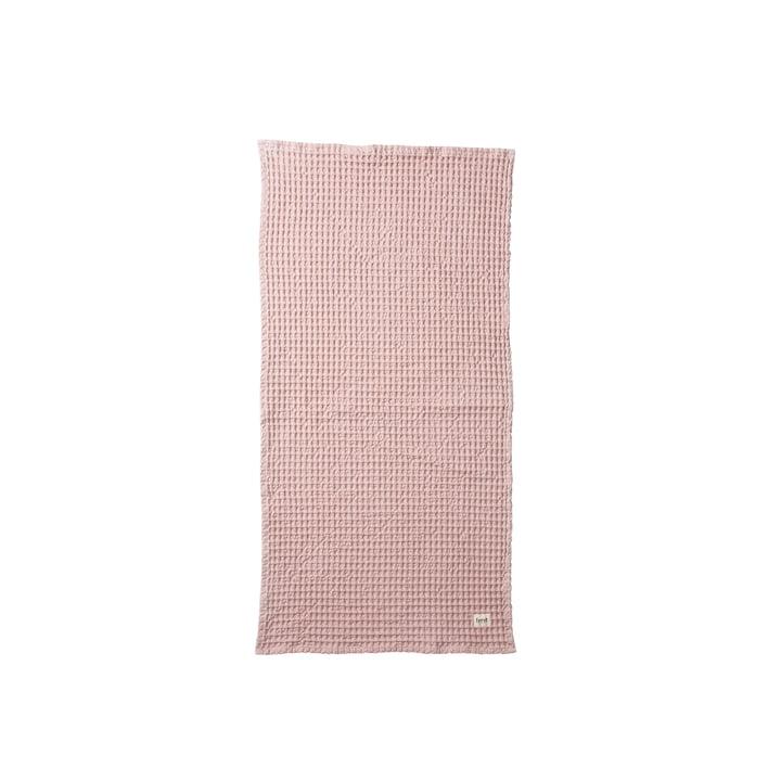 ferm Living - Organic Handtuch, 100 x 50 cm, rosa
