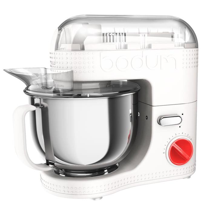 Bistro elektrische Küchenmaschine 4,7 l von Bodum in Weiß