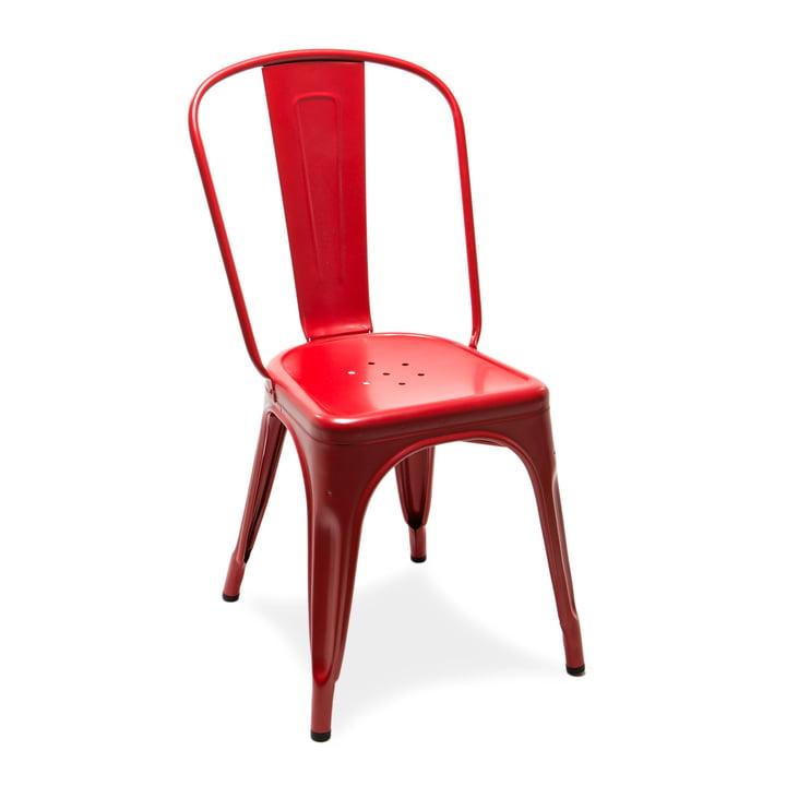 A Chair von Tolix in Pfefferrot matt