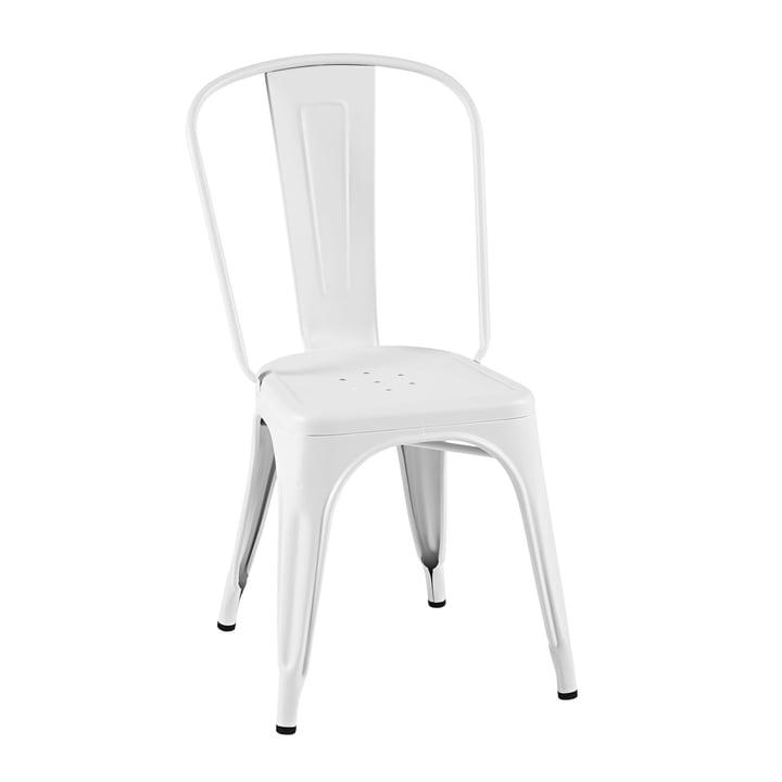A Chair von Tolix in weiß matt