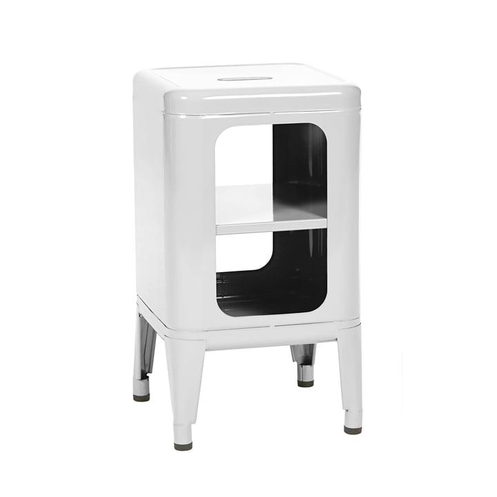 MT500 Hocker von Tolix in Weiß glänzend