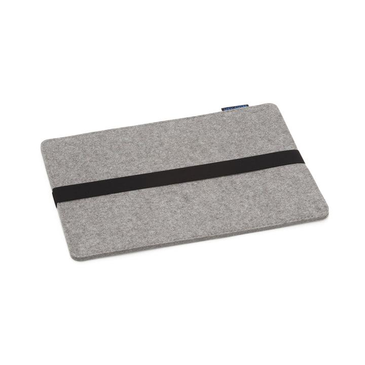 """Hey Sign - Case für das MacBook 13"""", schwarzes Gummiband, hell"""