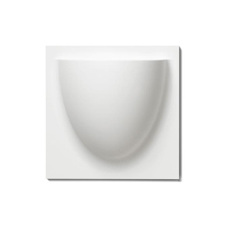 Wandtopf von VertiPlants in Weiß
