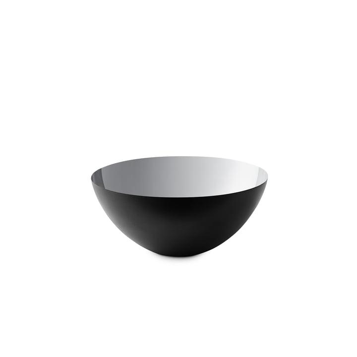 Krenit Schale 7,1 x Ø 16 cm von Normann Copenhagen in Silber
