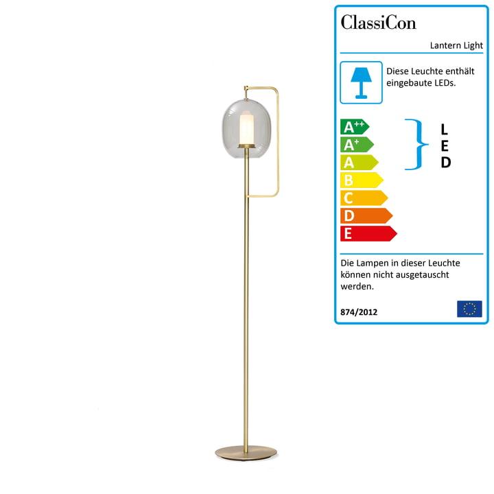 Lantern Light Stehleuchte medium von ClassiCon in Messing