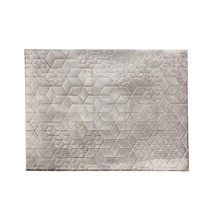 Mika Barr - Tischset Tin, 50 x 40 cm, grau