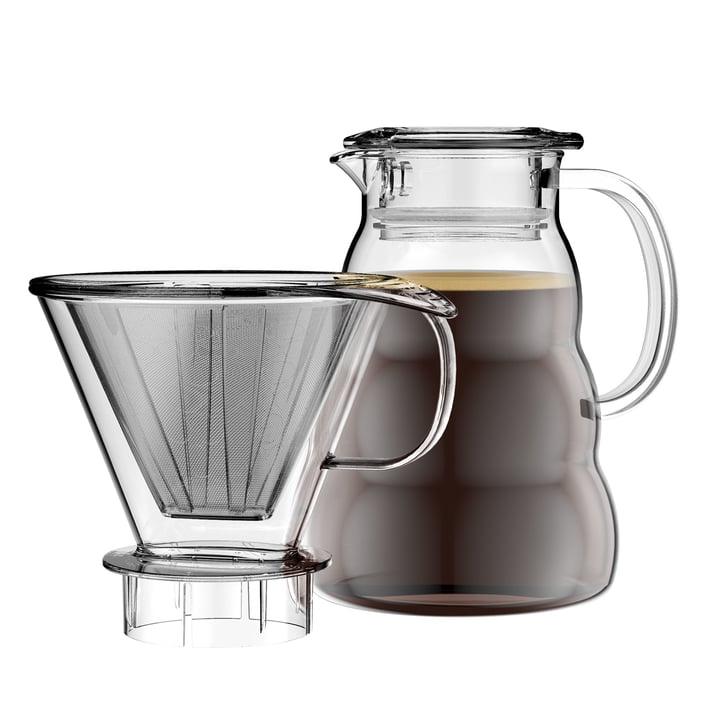Melior Kaffeebereiter mit Permanentfilter 1 l von Bodum